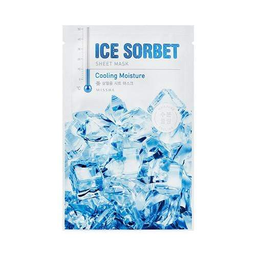 MASK38 [MISSHA] Ice Sobert Sheet Mask 5 PCS  (Cooling Moisture)