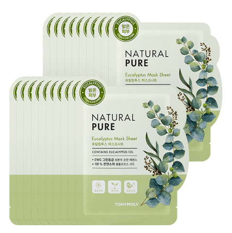 MASK38 [TONYMOLY] Eucalyptus Natural Pure Mask 20EA