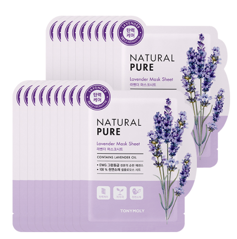MASK38 [TONYMOLY] Lavender Natural Pure Mask 20EA
