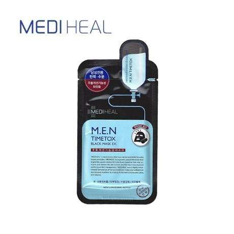 MEDIHEAL Mask sheet [Mediheal] M.E.N Timetox Black Mask (1BOX/10PCS)