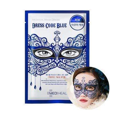 MEDIHEAL Mask sheet [Mediheal] Mask Dress Code BLUE (1Box-10PCS)