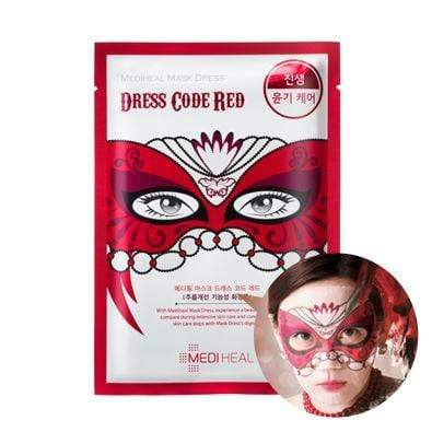 MEDIHEAL Mask sheet [Mediheal] Mask Dress Code RED (1Box-10PCS)