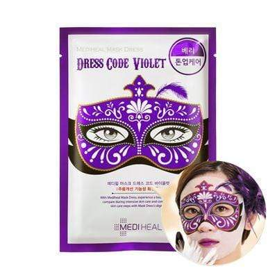 MEDIHEAL Mask sheet [Mediheal] Mask Dress Code VIOLET (1Box-10PCS)