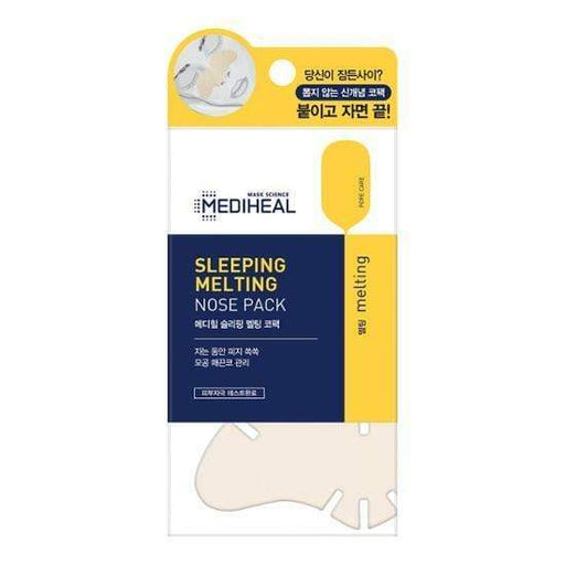 MEDIHEAL Patch [Mediheal] Sleeping Melting Nose Pack (3 PCS)