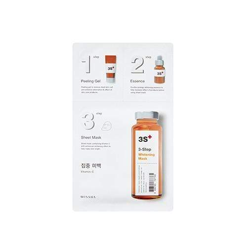 MISSHA Mask sheet [MISSHA] 3-Step Whitening Mask