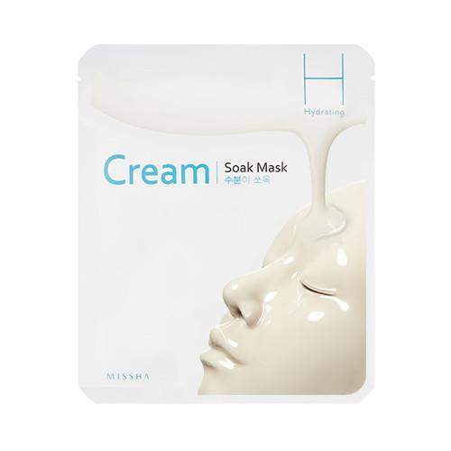 MISSHA Mask sheet [MISSHA] Cream Soak Mask-Hydrating