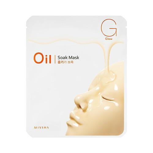 MISSHA Mask sheet [MISSHA] Oil Soak Mask-Glow