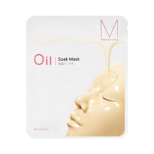 MISSHA Mask sheet [MISSHA] Oil Soak Mask-Moisturizing