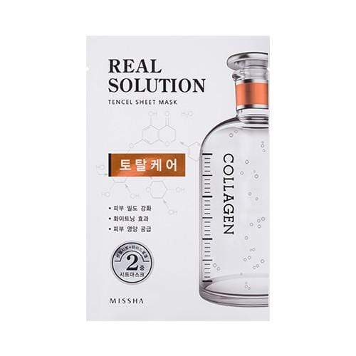 MISSHA Mask sheet [MISSHA] Real Solution Tencel Sheet Mask-Total Care