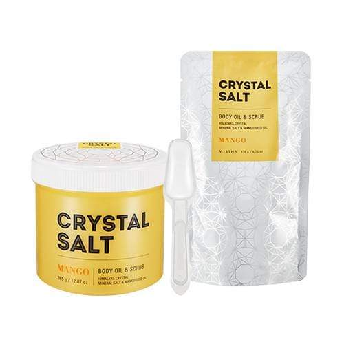 MISSHA Skin Care [MISSHA] CRYSTAL SALT BODY OIL & SCRUB-MANGO