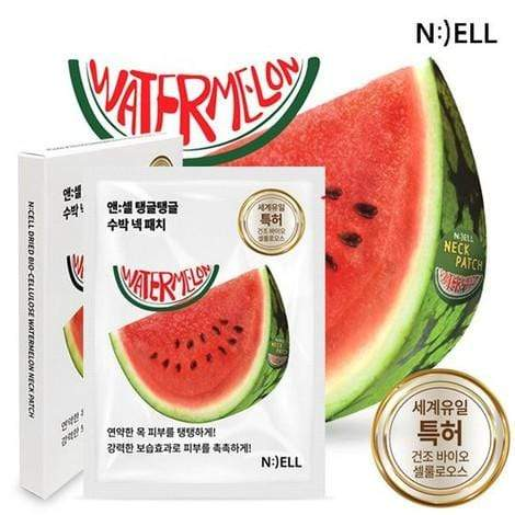 N:CELL Patch [N:CELL] Dried Bio-Cellulose Watermelon Neck Patch (5 PCS)