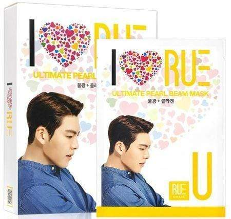 Other Brands Mask sheet [RUE KWAVE] ULTIMATE PEARL BEAM MASK (1Box)