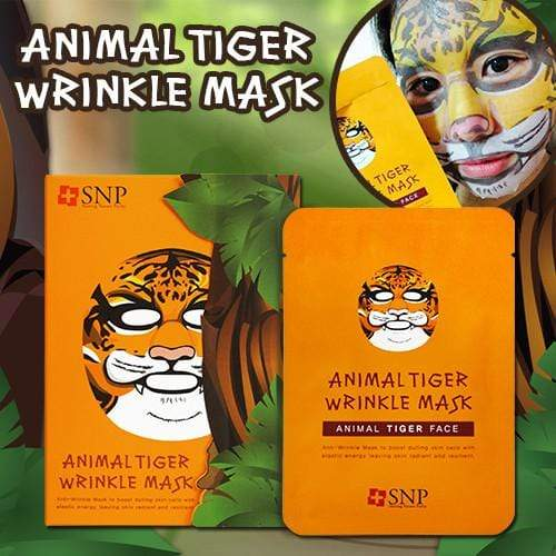 SNP Mask sheet [SNP] ANIMAL TIGER WRINKLE MASK (1BOX-10PCS)