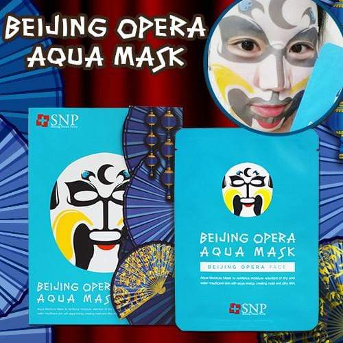 SNP Mask sheet [SNP] BEIJING OPERA AQUA MASK (1BOX-10PCS)