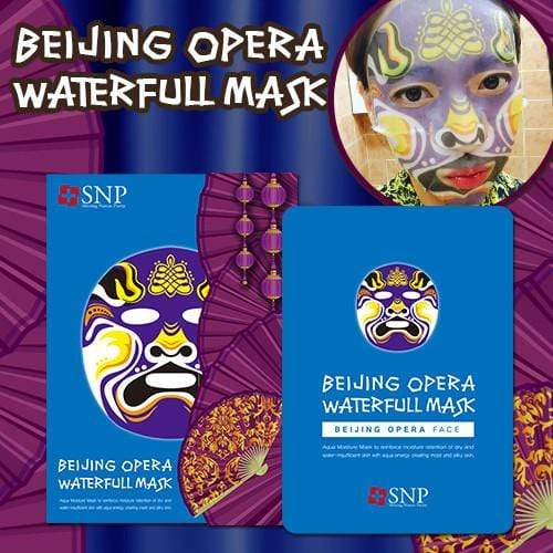 SNP Mask sheet [SNP] BEIJING OPERA WATERFULL MASK (1BOX-10PCS)