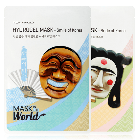 TONYMOLY Mask sheet [TONYMOLY] Mask In The World Hydrogel Mask
