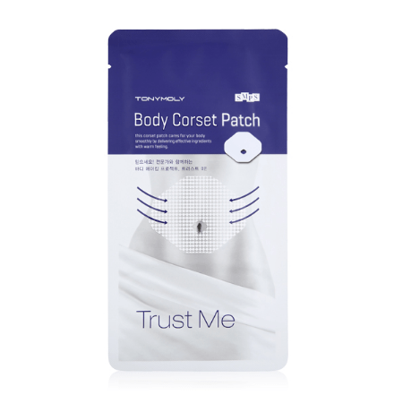 TONYMOLY Patch [TONYMOLY] Trust Me Body Corset Patch (1Pair)