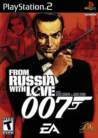 007 From Russia With Love - Playstation 2