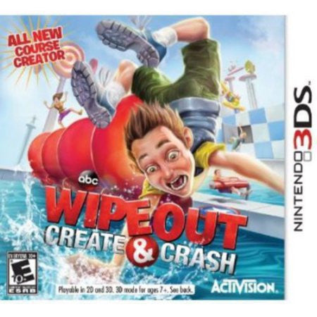 Wipeout: Create & Crash - Pre-Owned 3DS