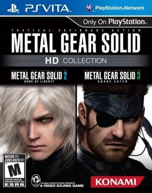 Metal Gear Solid HD Collection - Playstation Vita