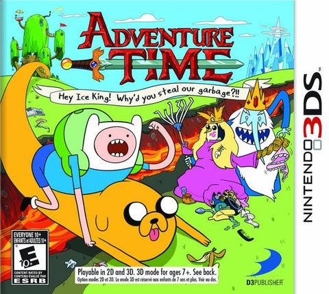 Adventure Time: Hey Ice king! Why'd You Steal Our Garbage?!! - Pre-Owned 3DS