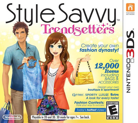 Style Savvy: Trendsetters - Pre-Owned 3DS