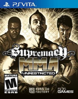 Supremacy MMA: Unrestricted - Playstation Vita