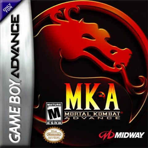 Mortal Kombat Advance - Gameboy Advance