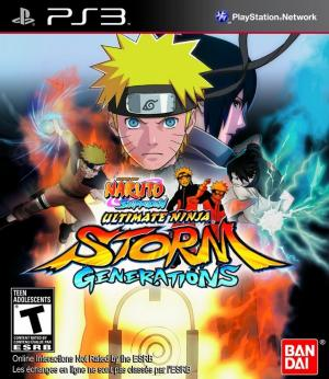 Naruto Shippuden: Ultimate Ninja Storm Generations - Pre-Owned PlayStation 3