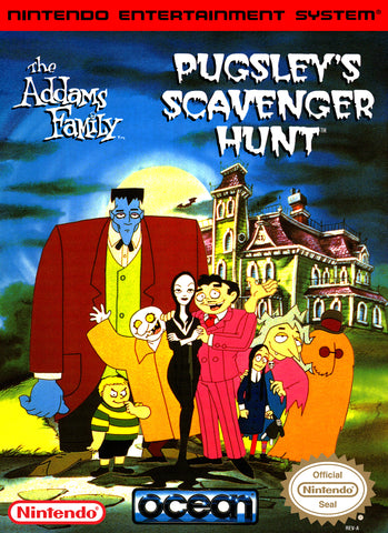 Addams Family: Pugsley's Scavenger Hunt - NES