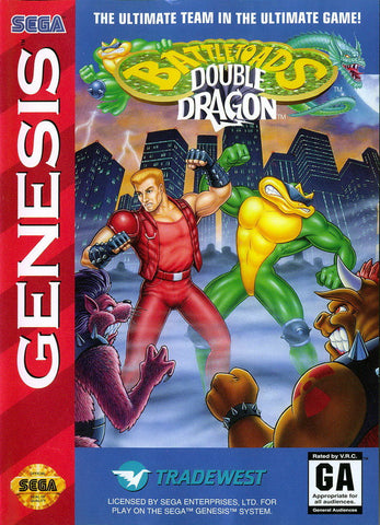 Battletoads/Double Dragon - Genesis