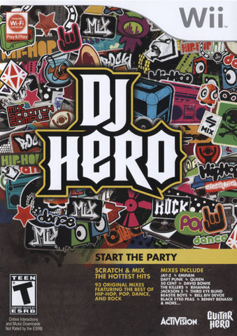 DJ Hero (Game Only) - Wii
