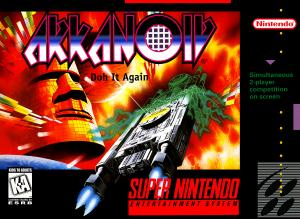 Arkanoid - Doh It Again! - SNES