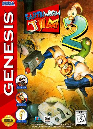Earthworm Jim 2 - Genesis