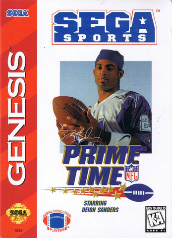 Prime Time NFL Football - Genesis