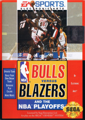 Bulls vs. Blazers and the NBA Playoffs - Genesis