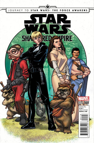 Star Wars: Shattered Empire #1 (2015) Retailer Summit Exclusive Variant