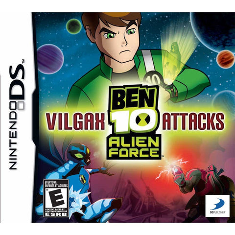 Ben 10: Alien Force - Vilgax Attacks - DS