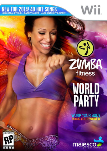 Zumba: World Party - Wii