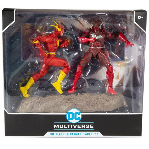 DC Collector: Flash and Batman Earth -52