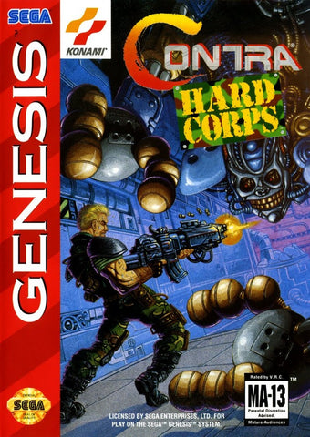 Contra: Hard Corps - Genesis