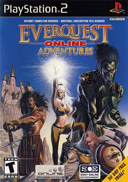 Everquest Online Adventures - Playstation 2