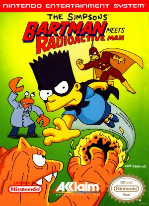 Bartman Meets the Radioactive Man - NES