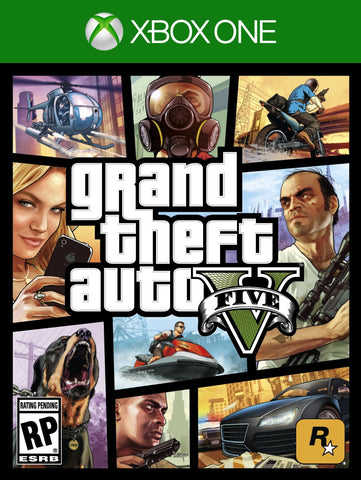 Grand Theft Auto 5 - Pre-Owned Xbox One