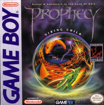 Prophecy: Viking Child - Gameboy