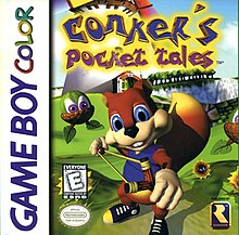 Conker's Pocket Tales - Gameboy
