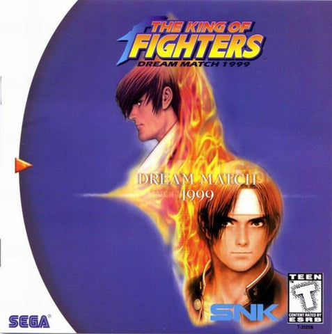 The King of Fighters: Dream Match 1999 Home - Dreamcast