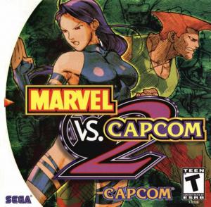 Marvel vs Capcom 2: New Age of Heroes - Dreamcast