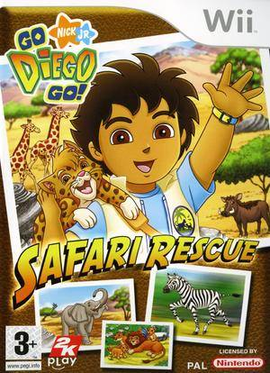 Go Diego Go: Safari Rescue - Wii