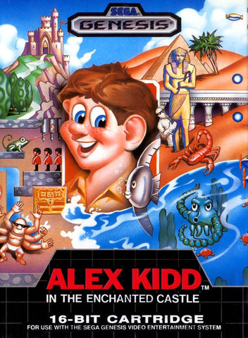 Alex Kidd in the Enchanted Castle - Genesis